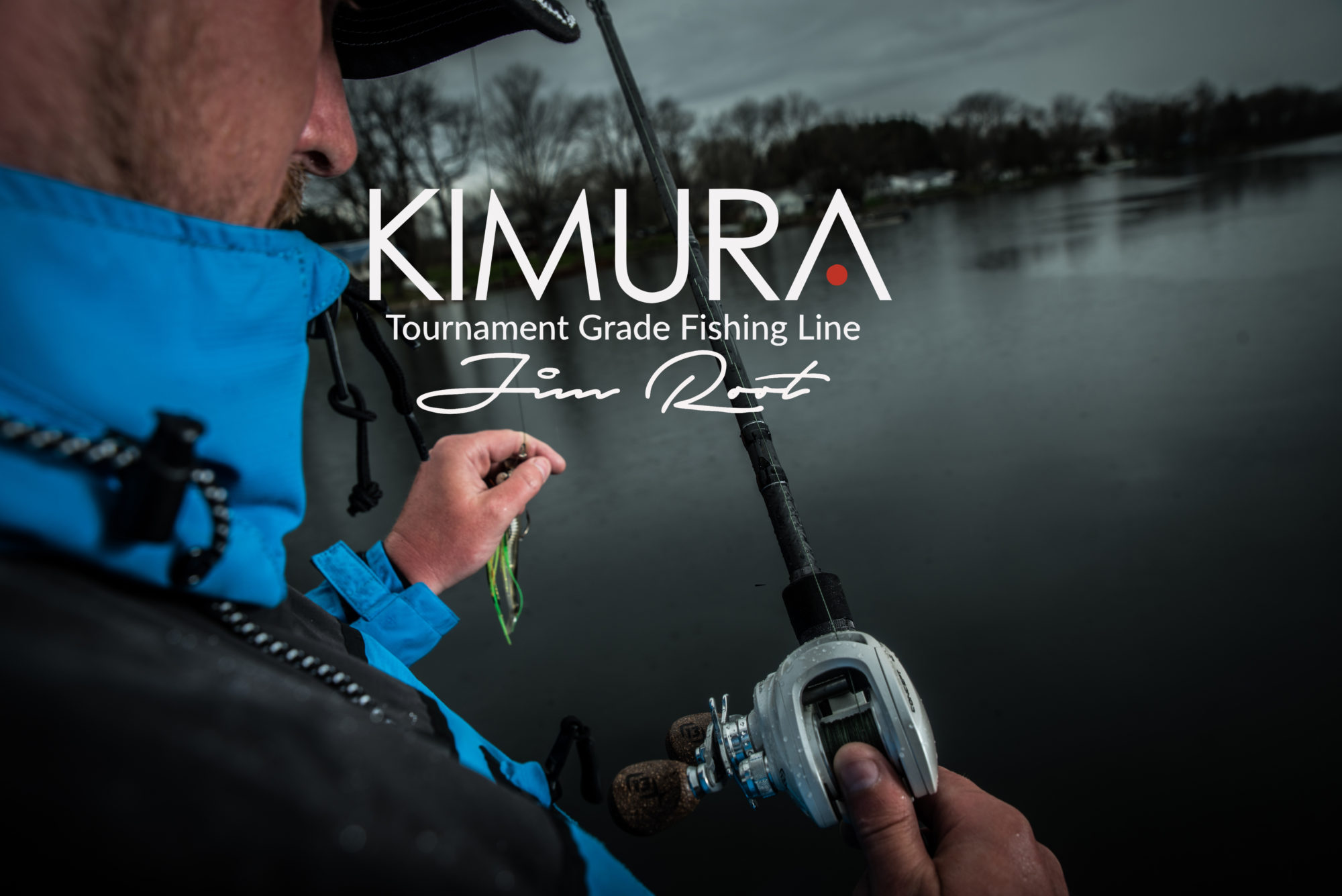 KIMURA fishing line, tournament grade.