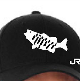 Smallmouth Bass Fishing High Quality Embroidered Fitted Hat