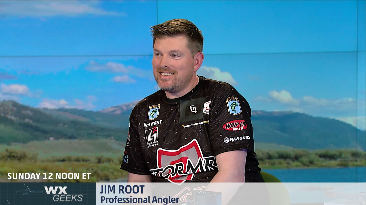 jim root fishing on the weather channel