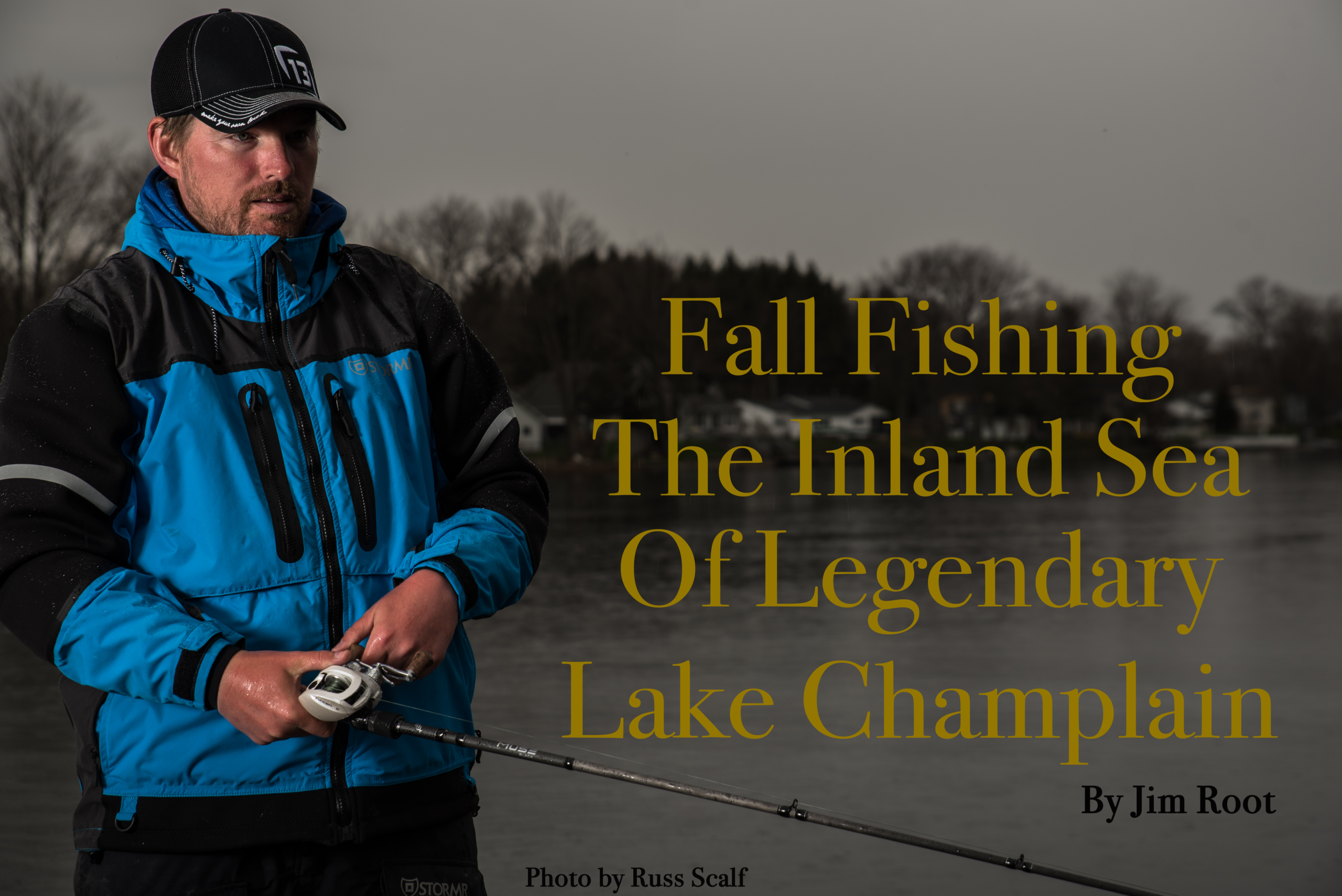 fall fishing lake champlain