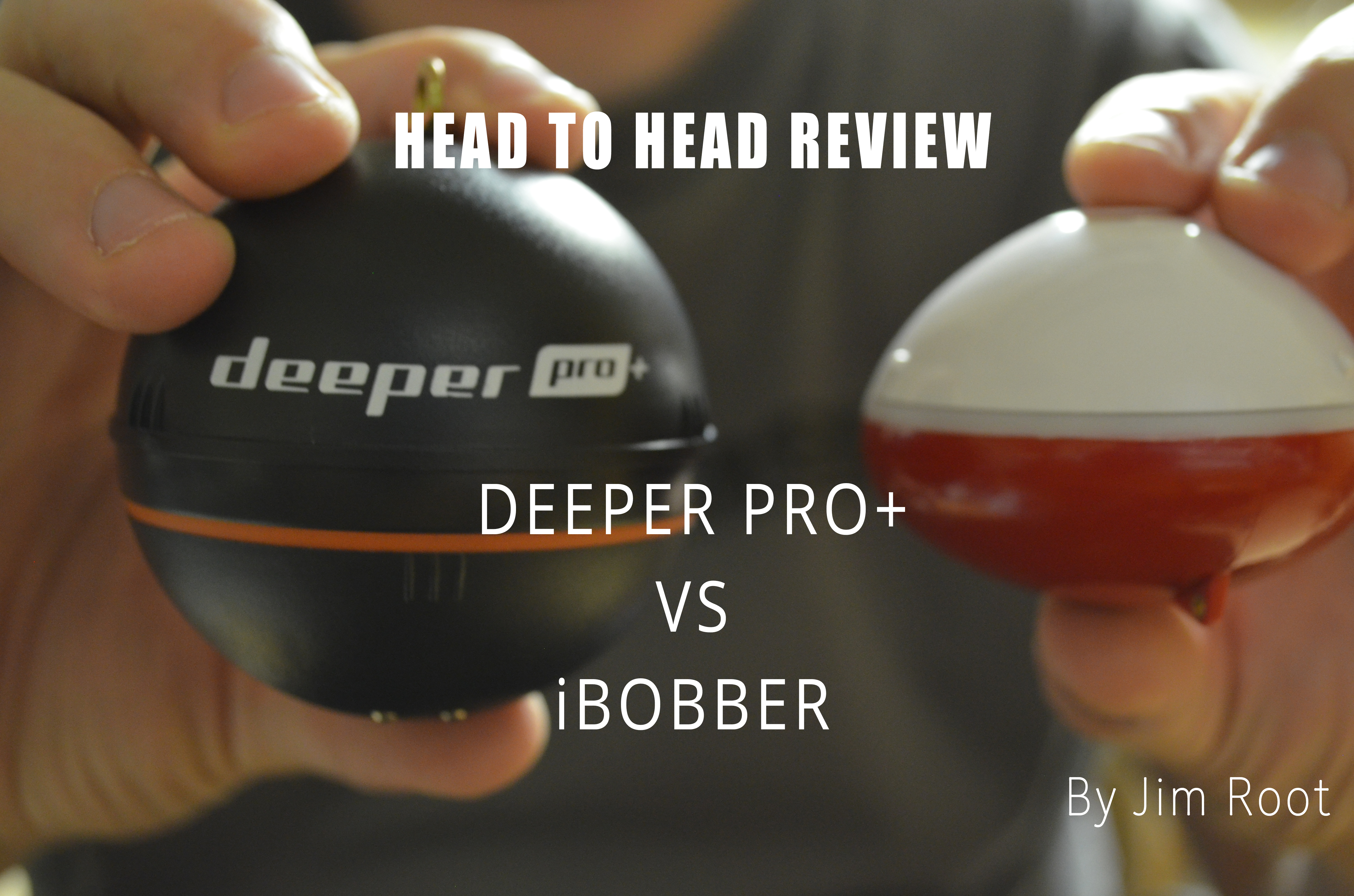 portable fish finders deeper pro+ vs iBobber